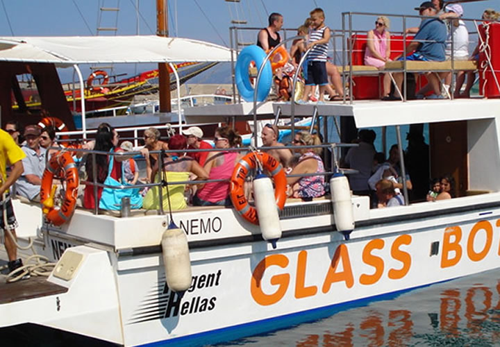 Glas bottom Boat